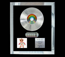 MARIAH CAREY RAINBOW MULTI (GOLD) CD PLATINUM DISC FREE SHIPPING TO U.K.