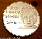 Give Peace a Chance Silver John Lennon Coin Beatles Rock n Roll Pop Music London