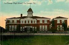Georgia, Ga, La Grange, La Grange High School Early Postcard
