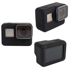 For GoPro HERO 5 Silicon Soft Case Protective Dirtproof Skin Black Rubber Cover