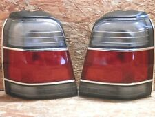 1997 2000 JDM SUBARU FORESTER SF5 TAIL LIGHT SET WITH MOULDING RARE ITEM OEM