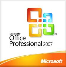 Microsoft office professional suite 2007 pour windows xp vista 7 8 et 10 bargain