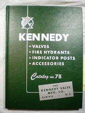 KENNEDY Valve Catalog ASBESTOS 1955 Composition Disc Packing Pipe Fire Hydrant
