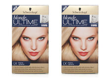 2 Pack New Schwarzkopf Blonde Ultime LX Xtreme Lightener Dye Shiny Hair Colour