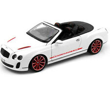 Maisto Bentley Continental Supersports Convertible ISR 1:18 White