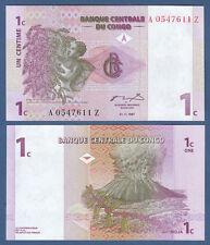 KONGO / CONGO 1 Centime 1997 Replacement Suffix Z  UNC  P.80