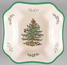 Spode Christmas Tree Square Salad Bowl w Original Box S3324-AO 67