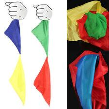 WOW!Magie Doppelfarbwechsel Hanky Silk Zaubertrick Wechsel Zaubertrick Spielzeug