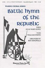 Battle Hymn Of The Republic Piano Vocal Choral Voice Learn Play Music Book
