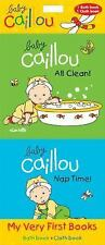 Baby Caillou: My Very First Books : All Clean! and Nap Time (2014, Kit)