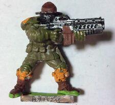 Figurine Métal Humain Human SOLDAT Soldaten Vintage Warhammer 40K 40000 Oop