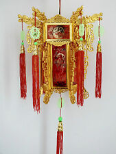 CHINESE 36cm GOLD RED DRAGON LANTERN RUNNING HORSE LIGHT LAMP NEW YEAR PARTY A2