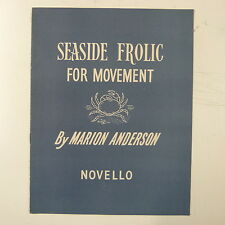 piano MARION ANDERSON seaside frolic , for movement