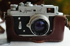 KMZ ZORKI 4 Russian Rangefinder Camera 35mm Jupiter-8 2/50mm Lens 1957 year