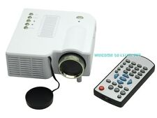 LED Projector For Home Cinema HD Games Console Portable hdmi av usb theatre