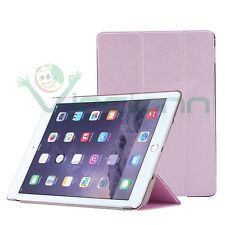 2x Pellicola+Custodia smart cover ROSA per Apple iPad Air 2 2014 case stand Pink
