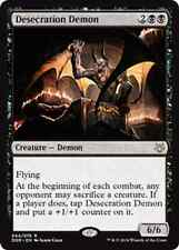Desecration Demon NM X4 Duel Decks: Nissa vs. Ob Nixilis MTG Magic Black Rare