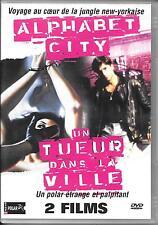 DVD ZONE 2 / 2 FILMS--ALPHABET CITY & UN TUEUR DANS LA VILLE--ABEL FERRARA