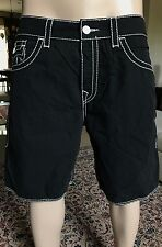 True Religion Big T Mens Boardshort size 36 $118 swim trunks MADE IN USA