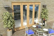 PATIO FRENCH DOORS - 8ft 2400mm 44mm - 1.7 U-VALUE - SUPPLIED UNFINISHED