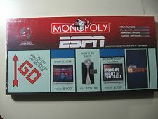 Monopoly: ESPN Ultimate Sports Fan Edition, board game, Brand New and Sealed