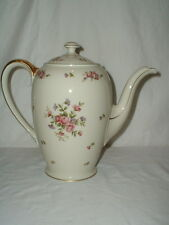 """Rosenthal Continental Rose 7 1/2"""" 5 Cup Coffee Pot Pattern 2950"""
