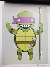 Isaac Bidwell Donatello Teenage Mutant Ninja Turtles Poster Shredder The Foot SN