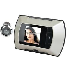 "HD Wireless Digital Door Peephole Viewer High Resolution Camera 2.4"" Monitor"