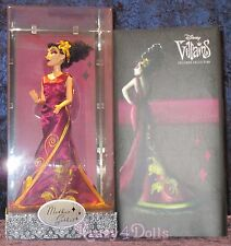 Disney Designer Villains Collection Mother Gothel Doll LE 13000 New!