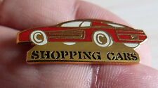 BEAU PIN'S VOITURE FERRARI TESTAROSSA SHOPPING CARS