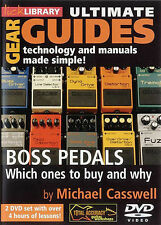 LICK LIBRARY GUIDE BOSS PEDALS 2DVD; Casswell, Michael, FMW - RDR0220