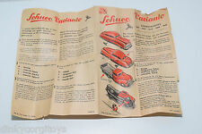 SCHUCO VARIANTO MODEL LEAFLET ORIGINAL EXCELLENT CONDITION