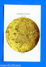 MISSIONE SPAZIO - Bieffe 1969 - Figurina-Sticker n. 131 - EMISFERO LUNA -Rec