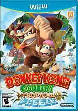 Donkey Kong Country: Tropical Freeze (Nintendo Wii U, 2014) -- FREE SHIPPING!!