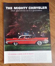 1957 Chrysler New Yorker 4 Door Hardtop Ad