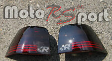 VW GOLF 4 IV schwarze Rückleuchten Black Tail Lights R32 Logo