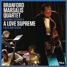 BRANFORD MARSALIS QUARTET-COLTRANE'S A LOVE SUPREME LIVE IN AMSTERDAM 2 CD NEU