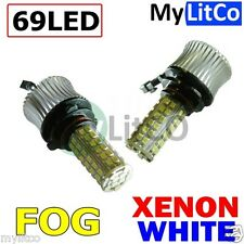 BMW Front Parking Light Bulb - XENON WHITE CANBUS LED 6000K - 12V 35W PGJ19-1 H8