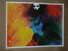 Trespasses Jacob Bannon signed numbered art print poster Converge Jane Doe