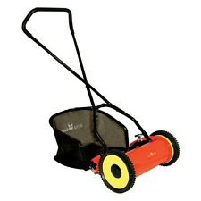 "WOLF GARTEN 12"" HAND PUSH CYLINDER LAWNMOWER FREE DELIVERY  WPCM"