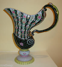 Herend Black Dynasty SN Water Pitcher w/Lizard Handle $5500 Value