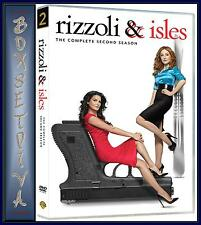 RIZZOLI AND ISLES - COMPLETE SEASON 2  *** BRAND NEW DVD ***