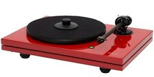 Music Hall MMF-5.3LE Red 2-Speed Belt-Driven Turntable w/Cartridge
