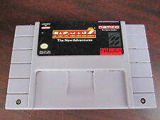 PAC-MAN 2 The NEW ADVENTURES Super Nintendo Cartridge SNES Tested & Cleaned !
