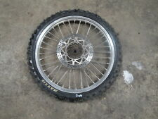 97 1997 YAMAHA WR250 WR 250 MOTORCYCLE BODY FRONT WHEEL TIRE 80/100-21