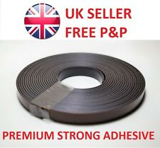 Magnetic Tape / Strip - Self Adhesive 10m x 10mm - Strong