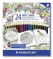 24 X Staedtler Noris Club Lápices De Colores-Exclusivo Johanna basford Edición