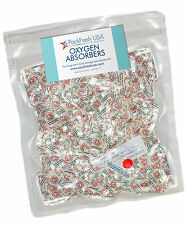 200 x 50cc OXYGEN ABSORBER PACKETS for long term food storage in Mylar bags cans