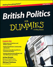 British Politics For Dummies (For Dummies Series), Pattison, Michael, Knight, Ju
