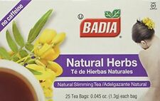 BADIA NATURAL HERBS SLIMMING TEA-LOSE WEIGHT AND FEEL GREAT-100 CT